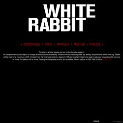 White Rabbit Dalston