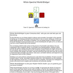 White Spectral World-Bridger