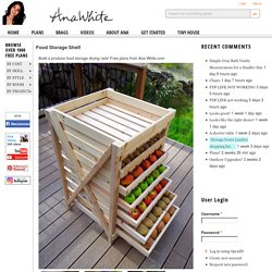 Food Storage Shelf - DIY Projects