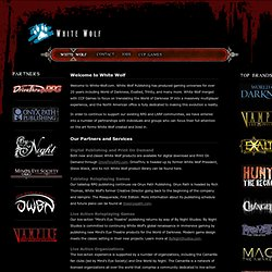 Master List of Numina - Geist: The Sin-Eaters