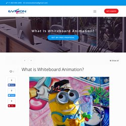 What is Whiteboard Animation? - eVISION Atlanta