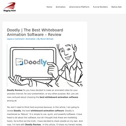 The Best Whiteboard Animation Software - Review