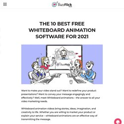 The 10 Best Free Whiteboard Animation Software For 2021