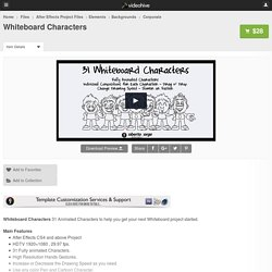 Whiteboard Characters