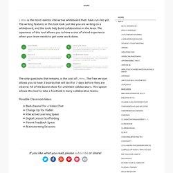 Limnu - The Online Whiteboard - #EdTechInnovations