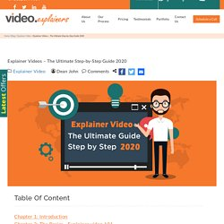 Explainer Videos - The Ultimate Step-by-Step Guide 2020 - Blog - Explainer Video & Whiteboard Animation