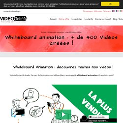 Whiteboard Animation, le TOP des vidéos explicatives