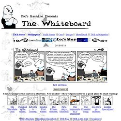 "The Whiteboard, a somewhat paintball-related webcomic by ""Doc"" Nickel"