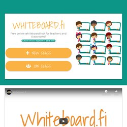 Whiteboard.fi - Free online whiteboard for teachers and classrooms