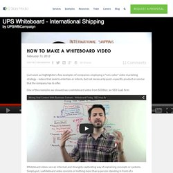 How To Make A Whiteboard Video - 12 Stars Media
