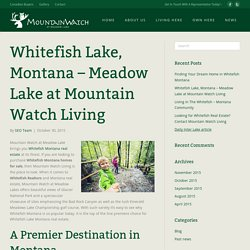 Search Whitefish Montana Homes for Sale