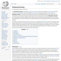 Whitehall Study - Wikipedia