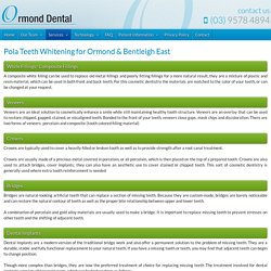 Teeth Whitening in Ormond & Bentleigh East