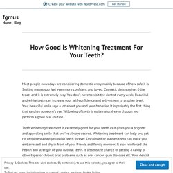 How To Keep The Teeth White After a Teeth Whitening Treatment?