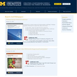 Erb Institute – University of Michigan