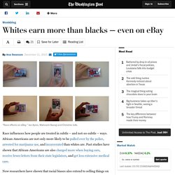 Whites earn more than blacks — even on eBay