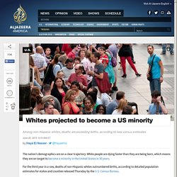 Whites Projected to Become a US Minority