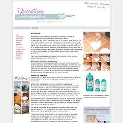 Whitewash voor meubels, vloeren en accessoires