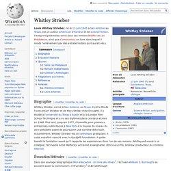 Whitley Strieber