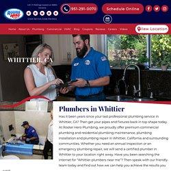 Emergency Plumbers in Whittier, CA