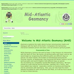 Mid-Atlantic Geomancy