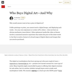 Who Buys Digital Art—And Why