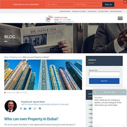 Learn More About The Property Law in Dubai