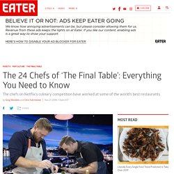 Who Are the Chefs on Netflix's 'The Final Table'?