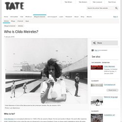 Who is Cildo Meireles?