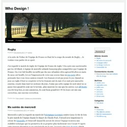 who-design.fr - le blog!