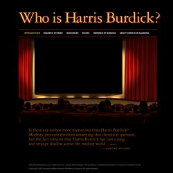 Who is Harris Burdick?