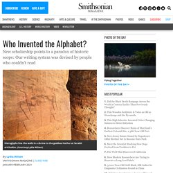 Who Invented the Alphabet?