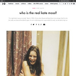 who is the real kate moss?