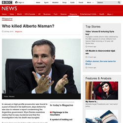Who killed Alberto Nisman? - BBC News