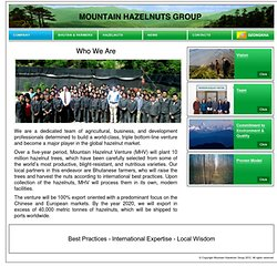 Mountain Hazelnuts Group