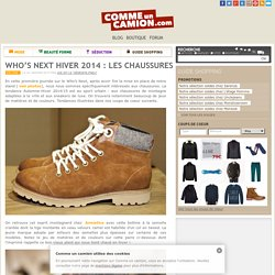 Who's Next Hiver 2014 : les chaussures