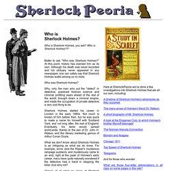 Who is Sherlock Holmes