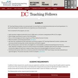 TNTP Teaching Fellows