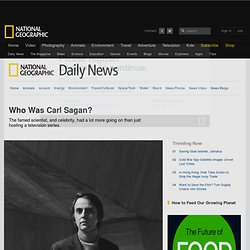 Who Was Carl Sagan?