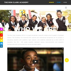The Ron Clark Academy