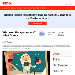 Who won the space race? - Jeff Steers
