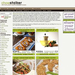 Whole30 - chowstalker