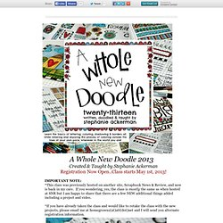 A Whole New Doodle 2013 Registration Now Open!