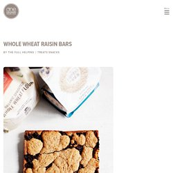 Whole Wheat Raisin Bars - One Degree Organics