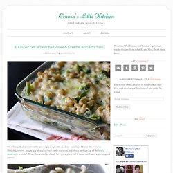 whole wheat macaroni and cheese
