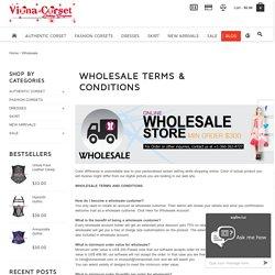 Corset Wholesale