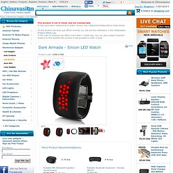 Dark Armada - Silicon LED Watch