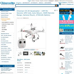 Wholesale Cheerson CX-20 Quadcopter From China