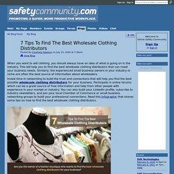 Best Wholesale Clothing Distributors