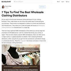 Find A Best Wholesale Clothing Distributor In USA